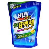 """CJ Lion Кислородный отбеливатель """"Beat O2"""" порошок, мягкая упаковка, 1.5 кг (А)"""