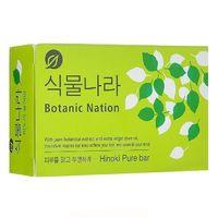 CJ Lion Мыло туалетное Botanical Nation, экстракт японского кипариса, 100 гр (А)