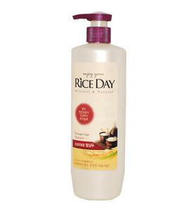 CJ Lion Шампунь Rice Day для поврежденных волос увлажняющий, 550 мл.