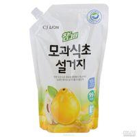 CJ Lion Средство для мытья посуды Chamgreen С айвой, мягкая упаковка, 860 мл (А)