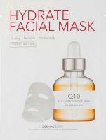 DERMAL  Коллагеновая маска для лица из микротенселя с коэнзимом Q10 25 г.