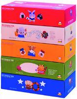 IDESHIGYO Бумажные салфетки «Игры-Самоделки», двухслойные, 150 шт. (А)