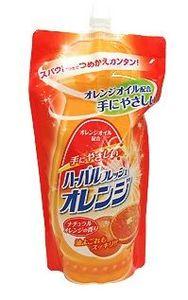 Mitsuei Средство для мытья посуды, овощей и фруктов (аромат апельсина),  500мл., м/у