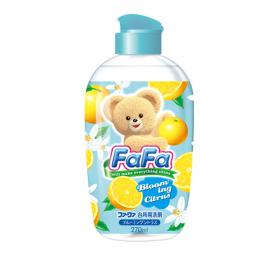 """""""Nissan FaFa"""", Средство для мытья детской посуды с ароматом цитрусовых, флакон, 270 мл."""