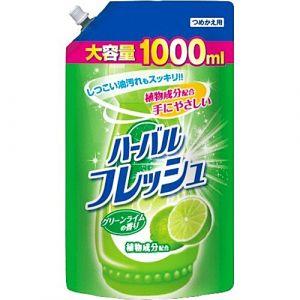 MITSUEI Средство для мытья посуды, овощей и фруктов (аромат лайма) М/У с крышкой 1000мл.