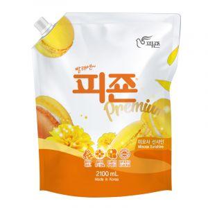 PIGEON  Кондиционер для белья (с ароматом «Желтая мимоза») М/У 2,1л.