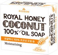 Mukunghwa Мыло туалетное твердое 100% масла кокоса и медом, 100г