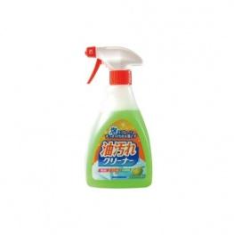 NIHON  Очищающая спрей-пена для удаления масляных загрязнений на кухне, (в том числе нагоревшего жира), 400мл