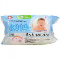 iPLUS Детские влажные салфетки 99,9% воды для рук и лица 80 шт, мягкая упаковка (А)(+4)