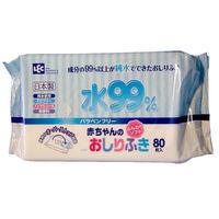 iPLUS Влажные салфетки для новорожденных 99,9% воды, 80 шт, мягкая упаковка (А)