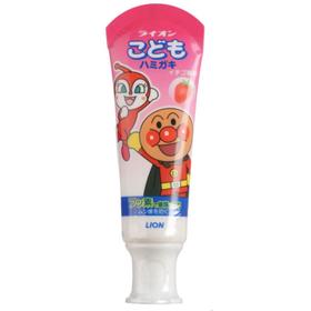 LION  Детская зубная паста, укрепляющая, вкус клубники, 40гр.