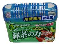 KOKUBO Дезодорант-поглотитель неприятных запахов, экстракт зелёного чая, для холодильника (общая камера), 150г (А)