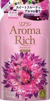 """LION Aroma Rich Кондиционер для белья """"Christine""""с пряным фруктовым ароматом, запасной блок 450 мл (А)"""