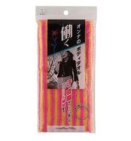 KOKUBO Массажная мочалка для тела, с акриловыми волокнами (женская), 20*100 см (А)