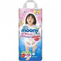 Подгузники-трусики Moony  для девочек, 13-25 кг. (26 шт.)    D