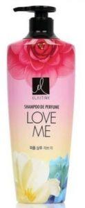 LG Elastine Парфюмированный шампунь для всех типов волос Love me 600 мл.