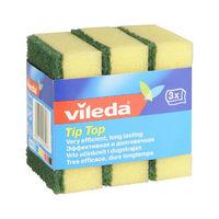 Vileda Губка классическая Тип-Топ, 3 шт (А)