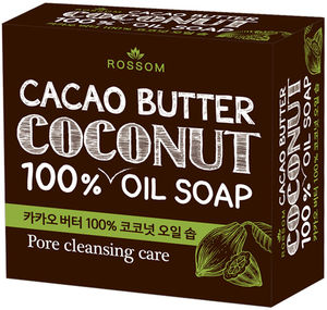 Mukunghwa Мыло туалетное твёрдое из 100% кокос+какао масла 100 г