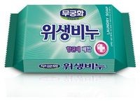 MUKUNGHWA, Laundry Soap, Мыло с антибактериальным, противовирусным, антигрибковым эффектом, для стирки белья, кусок, 230гр.
