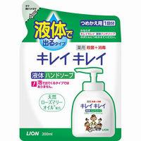 LION Kirei Kirei Жидкое мыло для рук с ароматом цитруса, запасной блок, 200 мл (А)