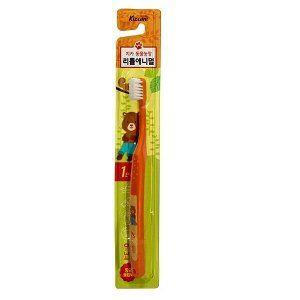 MUKUNGHWA  Зубная щётка Kizcare для детей от 0 до 3 лет (для чистки родителями и самостоятельной чистки, мягкая) 1шт.