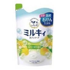 COW Молочное увлажняющее жидкое мыло для тела цитрус, м/у 400мл
