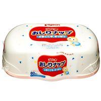 PIGEON Детские влажные салфетки с лосьоном, пластиковый контейнер, 80 шт (А)