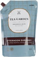 "LION Средство для мытья посуды Chamgreen Tea Garden ""Бергамот"", мягкая уп., 1250 гр (А)"