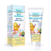 BABYLINE Детская зубная паста со вкусом ТУТТИ-ФРУТТИ от 2 до 6 лет, 75 мл(А)